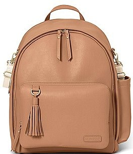 Image of Skip Hop Greenwich Tasseled Backpack Diaper Bag