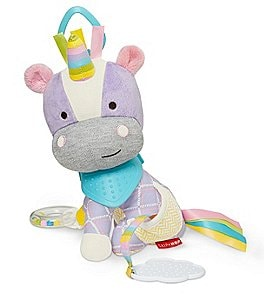 Image of Skip Hop Unicorn Buddy Rattle Toy & Teether