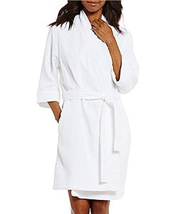 Image of Spa Essentials by Sleep Sense Waffle-Knit Wrap Robe