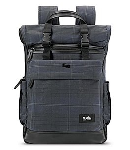 Image of Solo Highland Collection Cameron Roll-Top Backpack