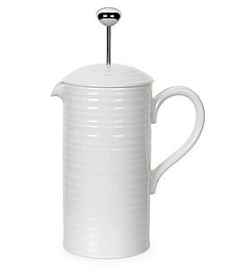 Image of Sophie Conran by Portmeirion Porcelain Cafetiere Coffee Pot