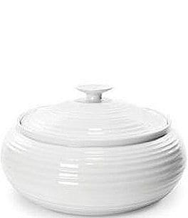 Image of Sophie Conran for Portmeirion Low Round Porcelain Covered Casserole