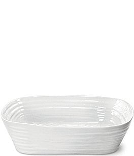 Image of Sophie Conran for Portmeirion Porcelain Rectangular Roasting Dish