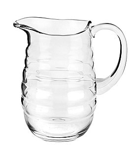 Image of Sophie Conran for Portmeirion Ribbed Glass Pitcher