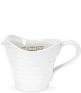 Image of Sophie Conran for Portmeirion White Measuring Jug