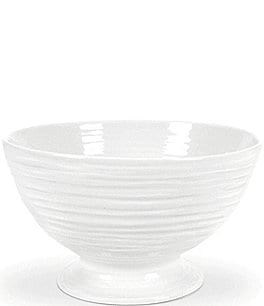 Image of Sophie Conran for Portmeirion White Porcelain Footed Bowl