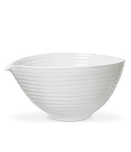 Image of Sophie Conran for Portmeirion White Porcelain Pouring Bowl
