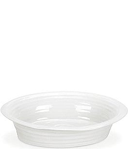 Image of Sophie Conran for Portmeirion White Round Pie Dish