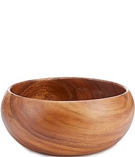 Image of Southern Living Acacia Wood Serving Bowl