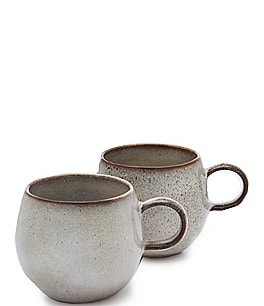 Image of Southern Living Astra Glazed Belly Coffee Mugs, Set of 2