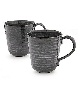 Image of Southern Living 2-Piece Astra Glazed Coffee Mug Set