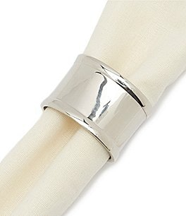 Image of Southern Living Brass Oval Napkin Ring