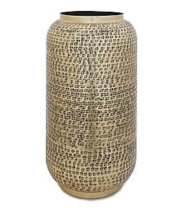 Image of Southern Living Cozy Winter Collection Hammered Vase