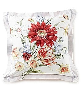 Image of Southern Living Deveraux Floral Square Pillow