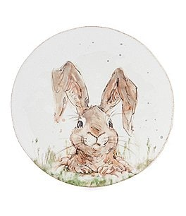 Image of Southern Living Easter Digger Bunny Plate