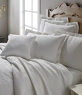 Image of Southern Living Emery Tile Jacquard Matelassé Coverlet