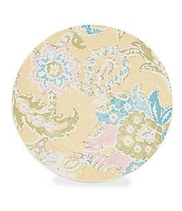 Image of Southern Living Fleur Tile Earthenware Salad Plate