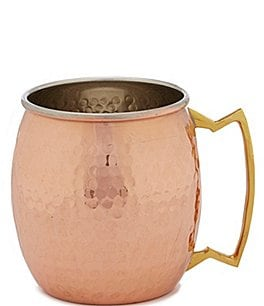 Image of Southern Living Hammered Copper Moscow Mule Mug