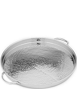 Image of Southern Living Hammered Round Tray