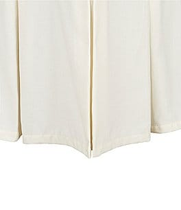 Image of Southern Living Heirloom Cotton Piqué Bedskirt