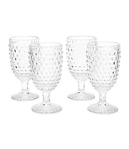 Image of Southern Living Hobnail Goblet Set of 4