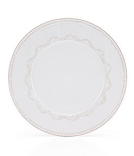 Image of Southern Living Isabella Hand-Painted Stoneware Dinner Plate