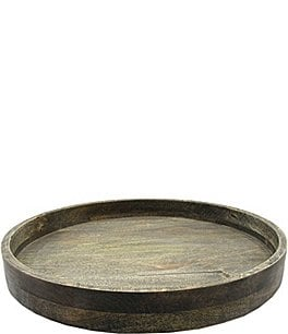 Image of Southern Living Mango Wood Lazy Susan