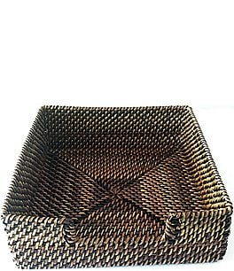 Image of Southern Living Festive Fall Collection Nito Woven Napkin Holder