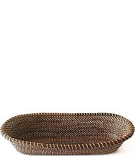 Image of Southern Living Spring Collection Nito Woven Oval Bread Basket