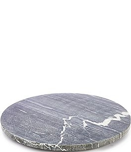 Image of Southern Living Round Marble Cheese Board with Resin Feet