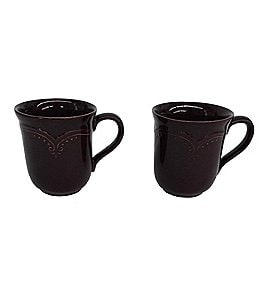 Image of Southern Living 2-Piece Savannah Scrolled Mug Set