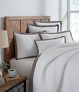 Image of Southern Living Simplicity Collection Addison Coverlet