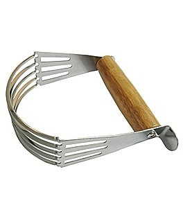 Image of Southern Living Stainless Steel Pastry Blender with Bamboo Handle