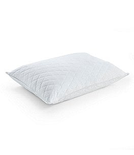 Image of Southern Living Diamond-Quilted 230-Thread-Count Cambrie Goose Feather Pillow