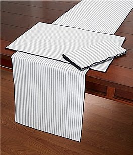Image of Southern Living Striped Seersucker Table Linens