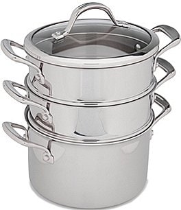 Image of Southern Living Tri-Ply Clad Stainless Steel Multicooker