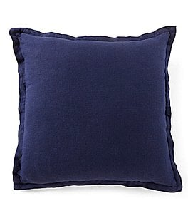 Image of Southern Living Velvet & Linen Oversized Square Pillow