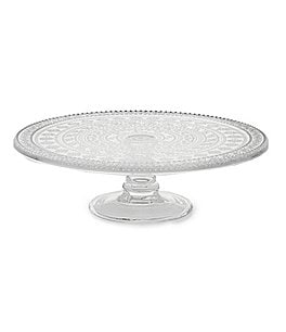 Image of Southern Living Vintage Eyelet Cake Plate