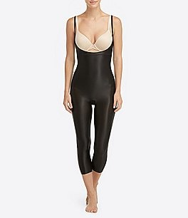 Image of Spanx Open-Bust Catsuit