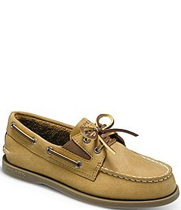 Image of Sperry Authentic Original Boys' Slip-On Boat Shoes