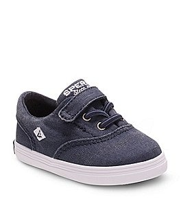 Image of Sperry Boys' Wahoo Canvas Crib Shoes