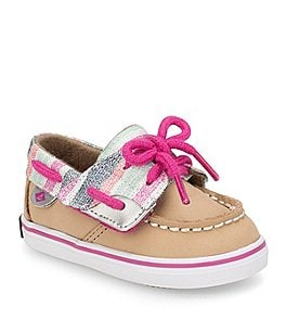 Image of Sperry Girls' Bluefish Crib Shoes