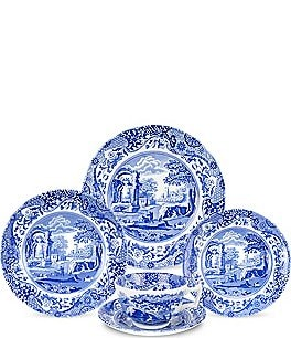 Image of Spode Blue Italian 5-Piece Place Setting
