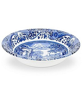 Image of Spode Blue Italian Cereal Bowl