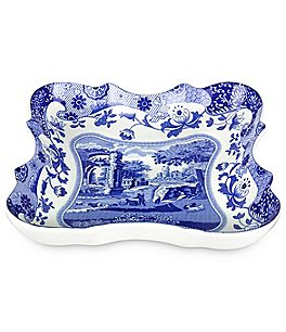 Image of Spode Blue Italian Devonia Tray