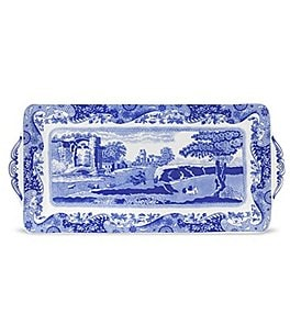 Image of Spode Blue Italian Sandwich Tray