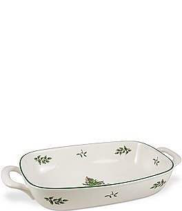 Image of Spode Christmas Tree Bread Basket