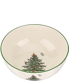 Image of Spode Christmas Tree Large Round Bowl