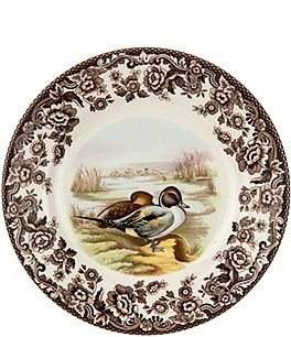 Image of Spode Festive Fall Collection Woodland Pintail Salad Plate