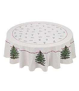 Image of Spode Holiday Collection Christmas Tree Tablecloth